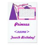 Princesa Pink/cuarta fiesta de cumpleaños del Anuncios