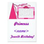 Princesa Pink/cuarta fiesta de cumpleaños del Comunicado Personal