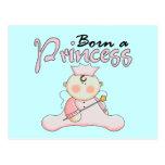 Princesa Pink T-shirts y regalos del bebé Postales
