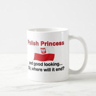 Princesa polaca apuesta taza