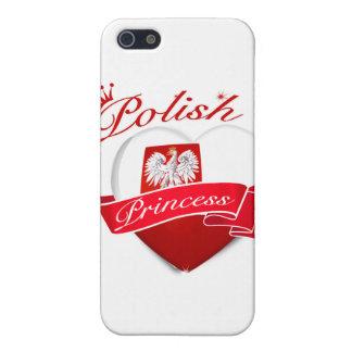 Princesa polaca iPhone 5 funda