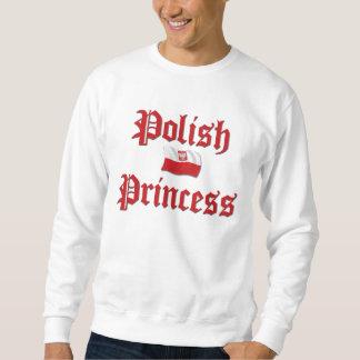 Princesa polaca sudadera con capucha