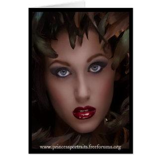 Princesa Portraits - el anuncio publicitario de SS Felicitación