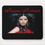 Princesa Portraits Mousepad (corporación) Alfombrilla De Ratones