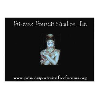 """PRINCESA PORTRAITS REFERRAL INVITATIONS INVITACIÓN 5"""" X 7"""""""