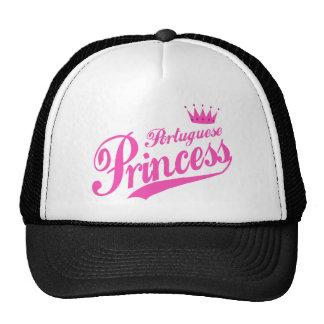Princesa portuguesa gorras de camionero