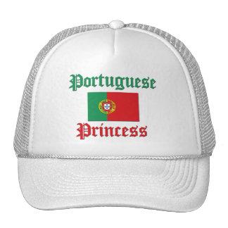 Princesa portuguesa gorros