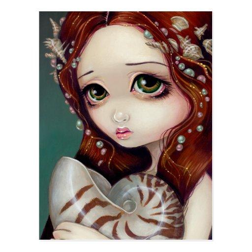 """Princesa"" postal del nautilus"