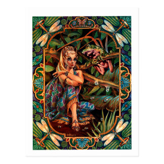 Princesa Postcard del duende Postales
