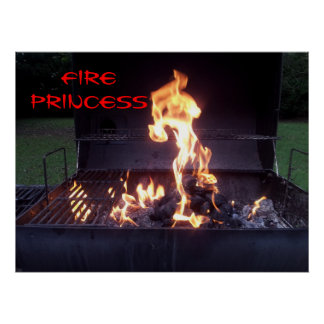 Princesa Poster del fuego