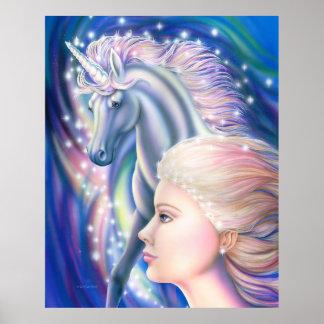 Princesa Poster del unicornio
