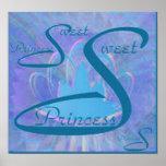 Princesa Poster - personalizar del dulce dieciséis