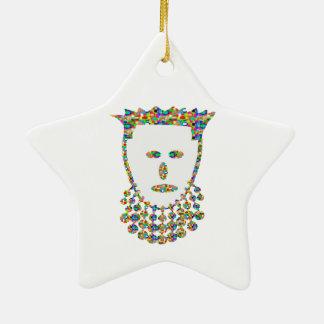 Princesa príncipe Elegant Jewel Art por NAVIN Ornamentos Para Reyes Magos