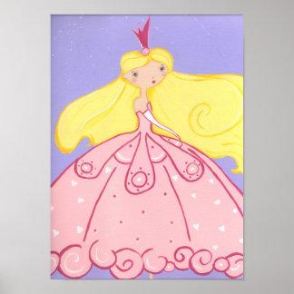 Princesa Print Póster