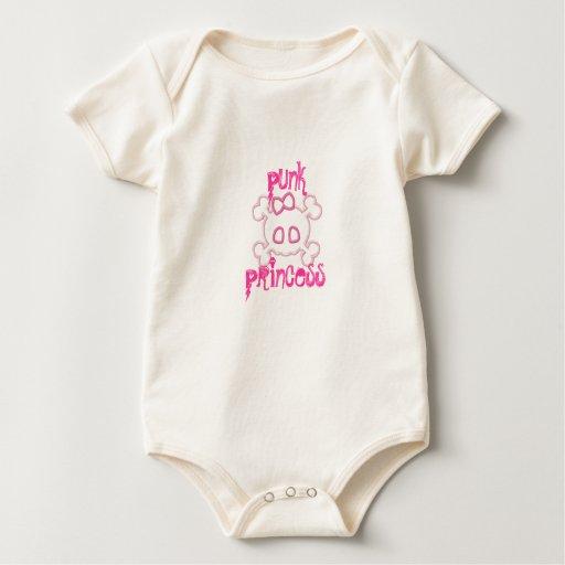 princesa punky body para bebé