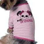 Princesa punky camisa de mascota