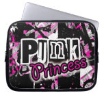 Princesa punky Laptop Sleeve Fundas Portátiles