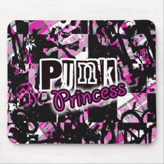 Princesa punky MousePad Alfombrillas De Raton