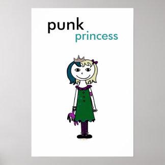 Princesa punky (pelo rubio) impresiones
