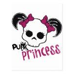 Princesa punky tarjetas postales