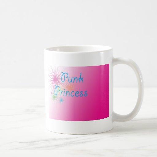 Princesa punky tazas de café