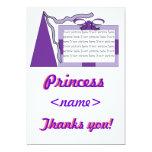 Princesa Purple/primer Th de la fiesta de Anuncios Personalizados