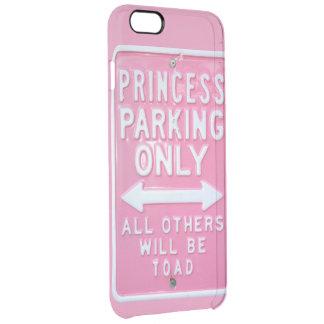 Princesa que parquea solamente funda clearly™ deflector para iPhone 6 plus de unc