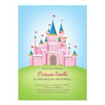 Princesa real Birthday Invitation Card del castill