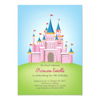 """Princesa real Birthday Invitation Card del Invitación 5"""" X 7"""""""