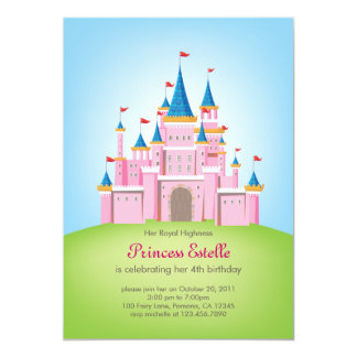 Princesa real Birthday Invitation Card del Invitacion Personalizada