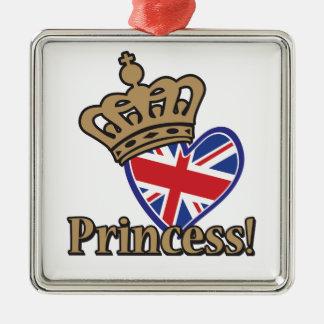 Princesa real ornaments para arbol de navidad