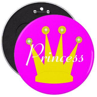 Princesa Real del oro Pin