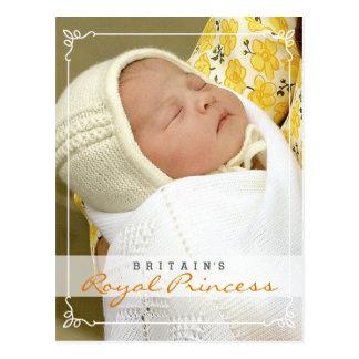 Princesa real - Guillermo y Kate Postal