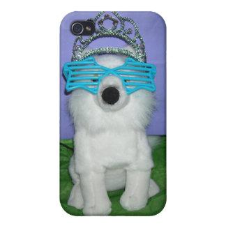 Princesa real Humor/tiara iPhone 4 Fundas