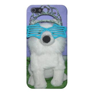 Princesa real Humor/tiara iPhone 5 Carcasa