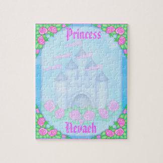 Princesa real linda Castle Customizable Puzzle