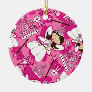 Princesa real linda Pattern Ornament Ornato