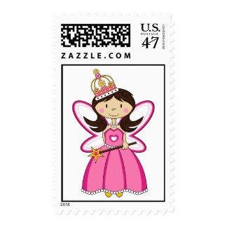 Princesa real linda Stamp Sello Postal