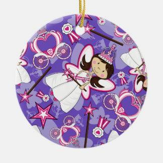 Princesa real Patterned Ornament Ornamentos De Navidad