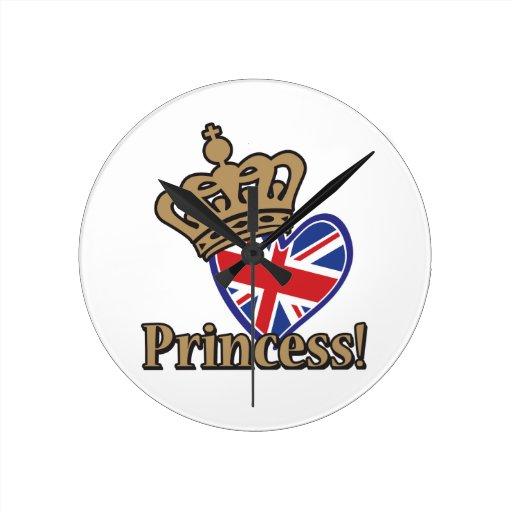 Princesa real reloj