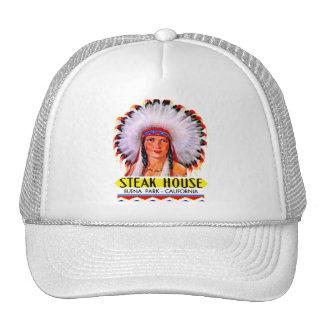 Princesa retra del indio del asador del kitsch del gorra