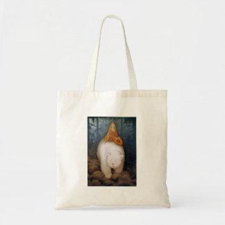 Princesa Riding rey oso polar Bolsa Tela Barata