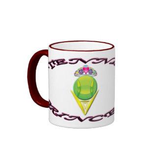 Princesa Ringer Mug del tenis Tazas De Café