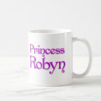 Princesa Robyn Taza Básica Blanca