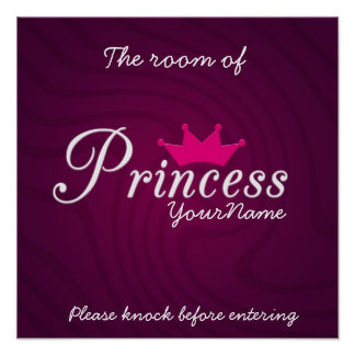 Princesa Room Poster