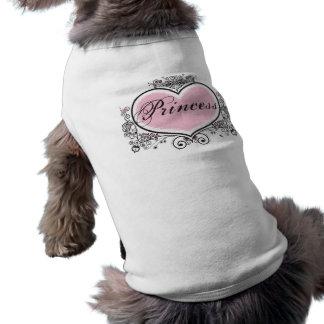 Princesa Camisa De Perro