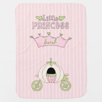 Princesa rosada Baby Blanket Mantas De Bebé