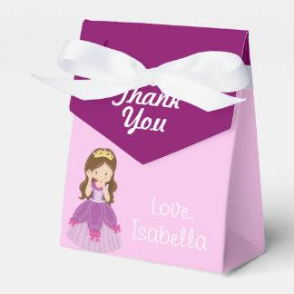 Princesa rosada bonita de encargo cajas para regalos