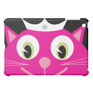 Princesa rosada bonita del gato del dibujo animado