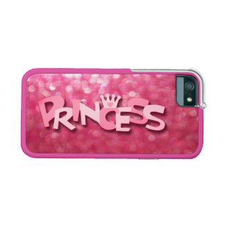 Princesa rosada brillante linda Bokeh